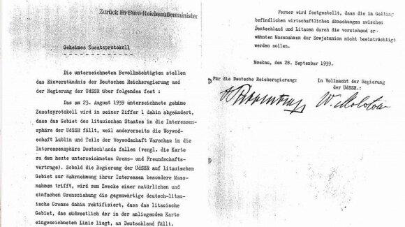Molotovo–Ribentropo pakto aktas