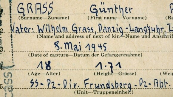 G. Grasso dokumentas