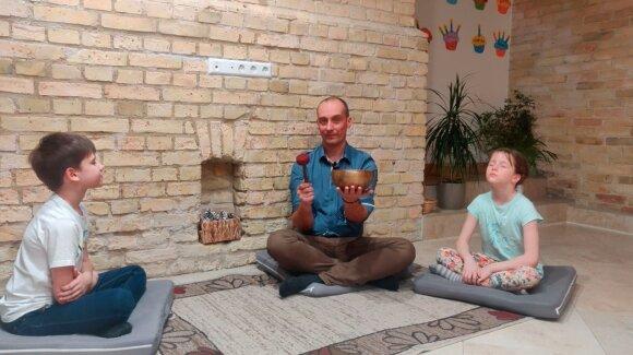Meditacija su Ugniumi Leimontu
