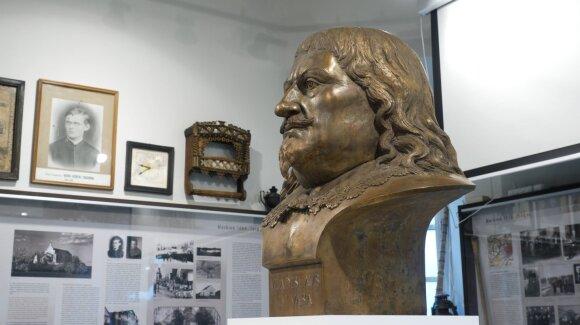 Skulptoriaus Daliaus Drėgvos paminklas Vladislovai Vazai IV