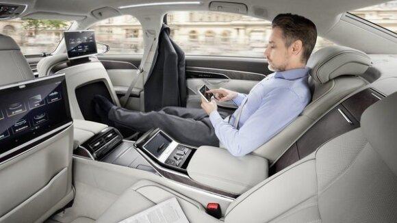 """Pristatytas naujasis """"Audi A8"""": vokiečių kelrodė žvaigždė"""