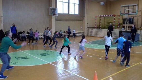 Merkinės Vinco Krėvės gimnazijos gyvenimas