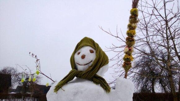 Snieguotos Velykos pažadino skaitytojų fantaziją