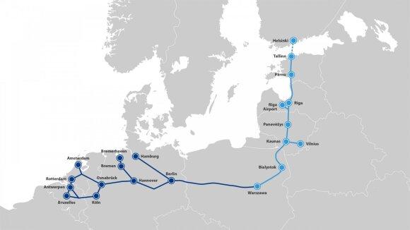 """""""Rail Baltica"""" ir jos tąsa"""