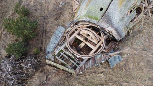 Rokiškio rajone nebeliko paskutinio medinio malūno