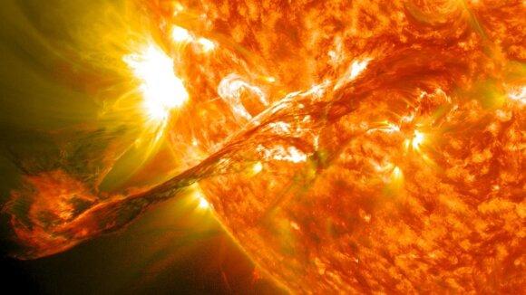 Saulės audra