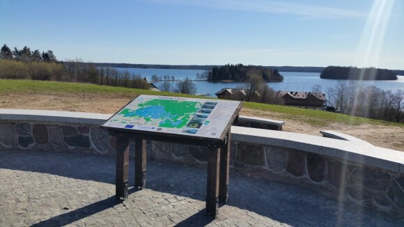 Platelių ežero apžvalgos aikštelė (Žemaitijos nacionalinis parkas)