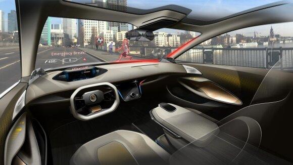 """Continental"" interaktyvus automobilio salonas ""Cockpit Vision 2025"""