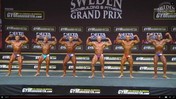 Kultūrizmo ir fitneso turnyras Švedijoje