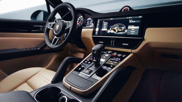 """Trečiosios kartos """"Porsche Cayenne"""""""