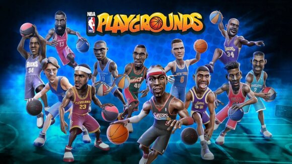 NBA Playgrounds viršelis