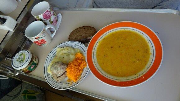 Maistas Širvintų ligoninėje