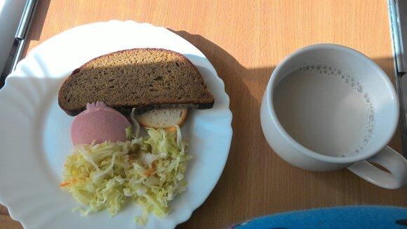 Asociatyvi nuotrauka - maistas ligoninėje