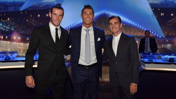 Garethas Bale'as, Cristioano Ronaldo ir Antoine'as Griezmannas