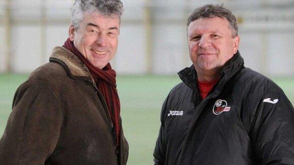 Vidmantas Murauskas (kairėje), Vladimiras Čeburinas