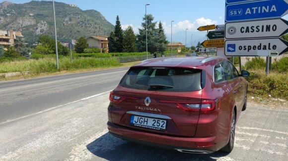 """6000 kilometrų kelionė su """"Renault Talisman Grandtour"""""""