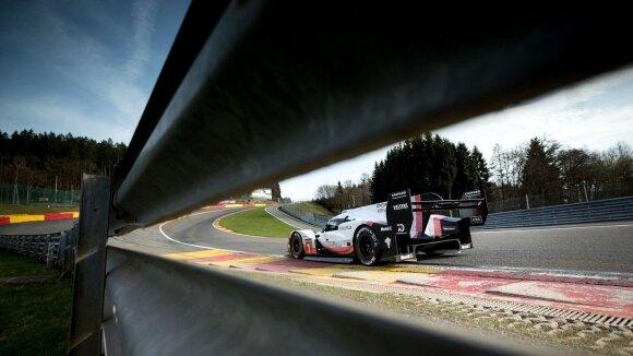 """Porsche 919 Hybrid"" pagerino Spa trasos rekordą"