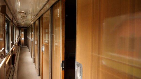 Geležinkelio vagone įkūrė hostelį