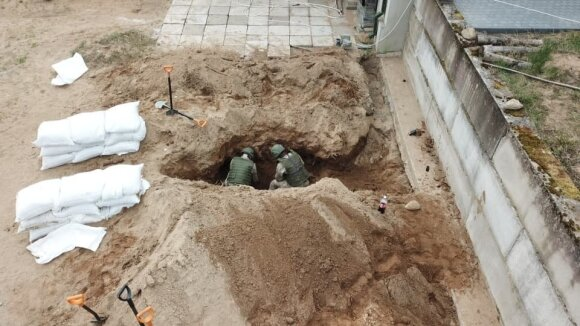 В Таурагском районе Литвы саперы обнаружили 2000 единиц бомб разного калибра