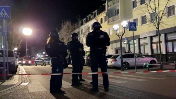 Siaubingas scenarijus Vokietijoje: per šaudynes žuvo mažiausiai 9 žmonės
