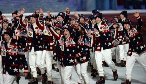 JAV sportininkai