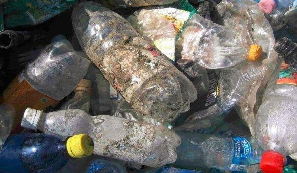 Plastikas iš rūšiavimo konteinerių, Estija