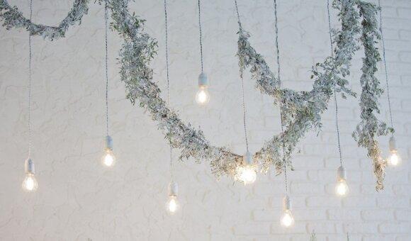 Geriausios šventinio dekoravimo idėjos nedidelėms erdvėms