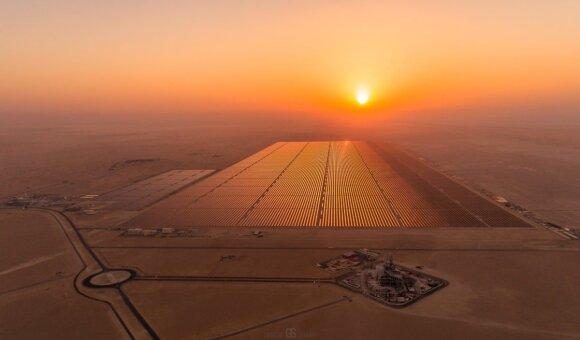 Saulės jėgainė Egipte