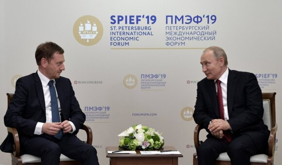 Michaelis Kretschmeris, Vladimiras Putinas
