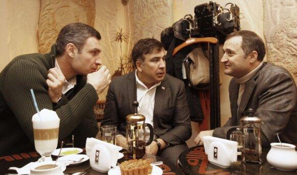 Саакашвили в Киеве: идет рейдерский захват Украины путинской Россией