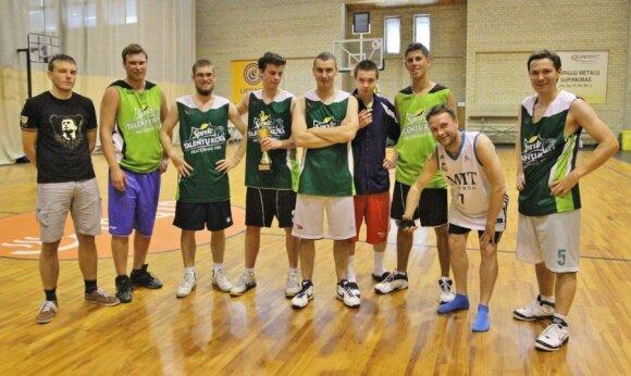 Sporto žurnalistų krepšinio turnyro 1x1 dalyviai