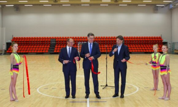 Ričardas Malinauskas (kairėje), Algirdas Butkevičius (viduryje/Foto: Druskininkų savivaldybė)