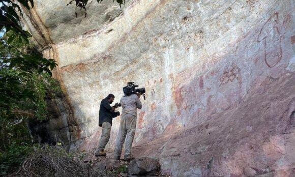 Atrasti daugiau nei 12 tūkst. metų senumo piešiniai