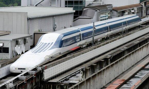 "Eksperimentinis traukinys ""Maglev"""