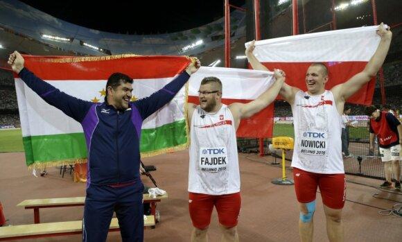 Dilshodas Nazarovas, Pawelas Fajdekas ir Wojciechas Nowickis