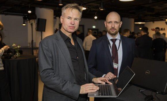 CEO Øysteinas Moanas ir Mantas Urbonas