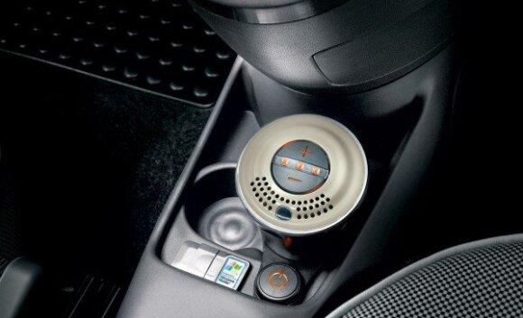 Fiat 500 su kvapų dispenseriu