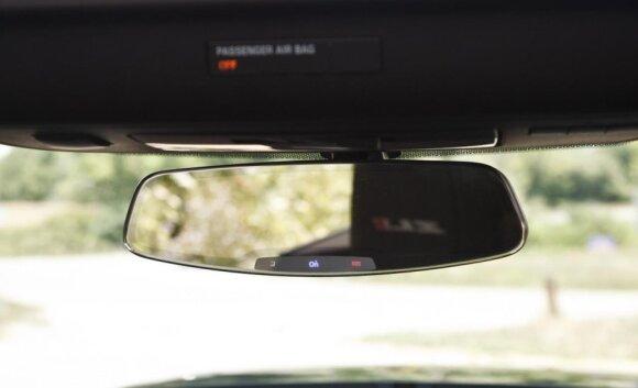 Chevrolet Camaro ZL1 veidrodėlis