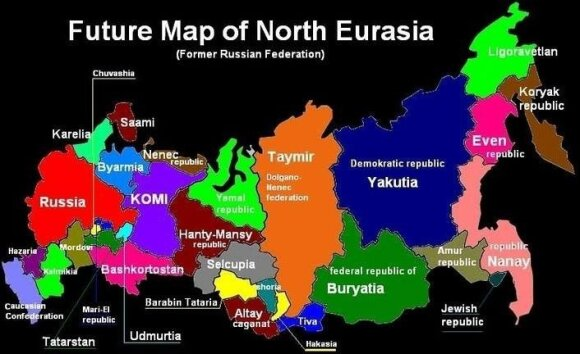 Podział Rosji
