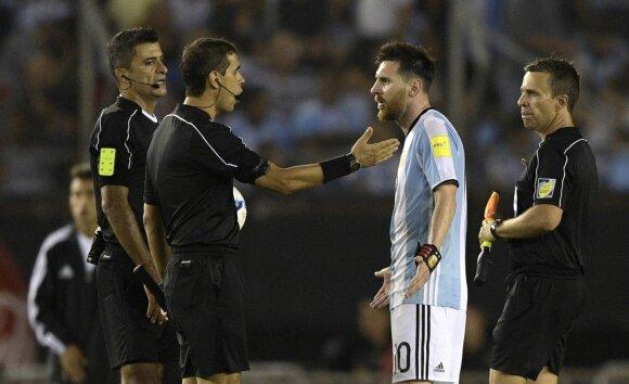 MArcelo Van Gasse ir Lionelis Messi