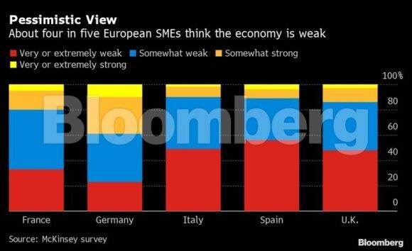 Požiūris į ekonomikos padėtį