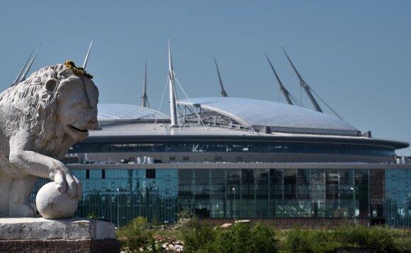 """""""Zenit Arena"""" stadionas"""