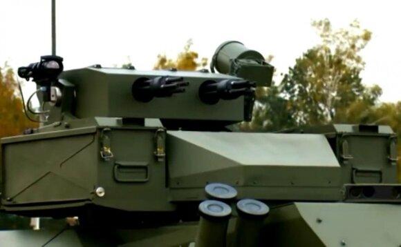 """Белорусский роботизированный боевой комплекс """"Берсерк"""""""