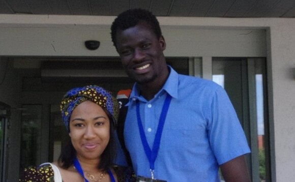Adanna Amaechi from Nigeria and Jackson Opio from Uganda. Photo MRU