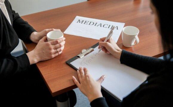 Sėkmingai dirbantis teisėjas mediatorius – ir kunigas, ir psichologas, ir bičiulis