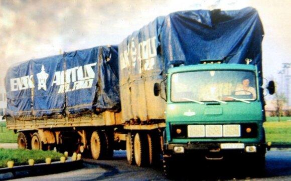 Lietuvoje važinėjęs autotraukinys