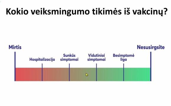 Profesorius Usonis išsakė griežtą poziciją apie laiko intervalų tarp vakcinų ilginimą