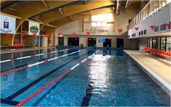 Varėnos sporto centro baseino plaukimo treneris Gytis Kašėta