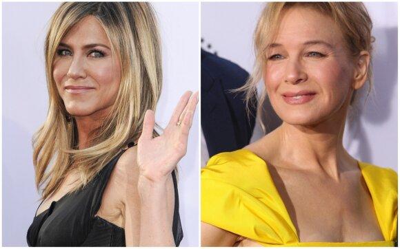 Jennifer Aniston ir Renée Zellweger