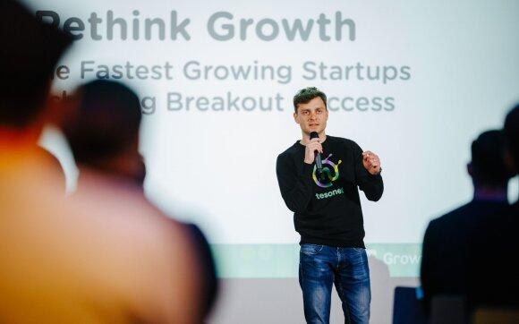 """Jonas Karklys, vienos sėkmingiausių Lietuvos technologijų įmonių """"Tesonet"""" vienas iš bendraįkūrėjų"""
